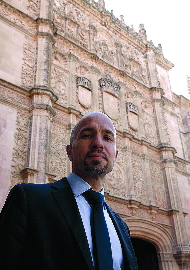 Oscar González Benito, director gerente de la Fundación General de la Universidad de Salamanca. Foto de David Arranz.