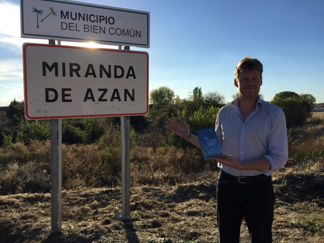 Christian Felber en Miranda de Azán