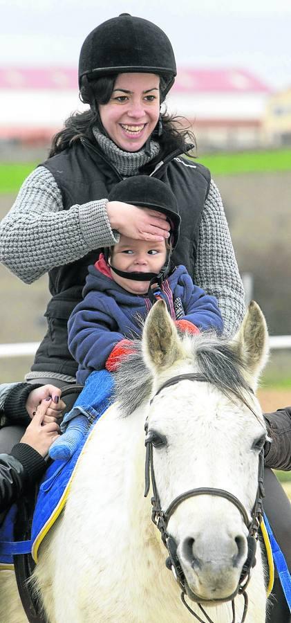 Equinoterapia,el poer de los caballos