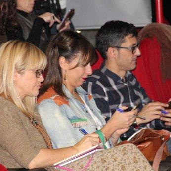 Con Mónica Pérez Alaejos y Jesús Martín Inés.Foto: Luis M. Pedrero