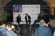 Oscar Rodriguez, Iñaki López y Aubrey De Grey en la rueda de prensa previa(Foto:Comunica2)