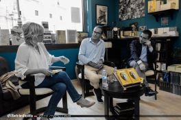 Con David Jiménez presentando El Director